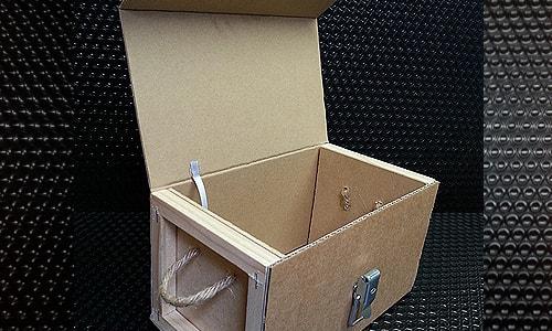 mini caisse carton ouverte vue