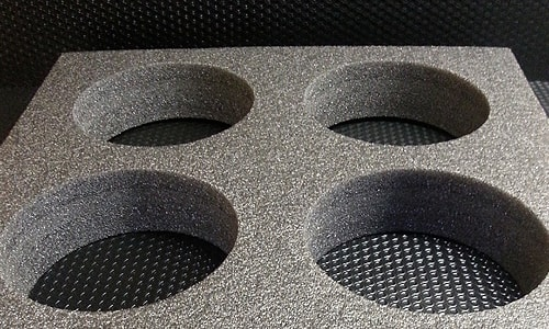mousse polyethylene calage gris