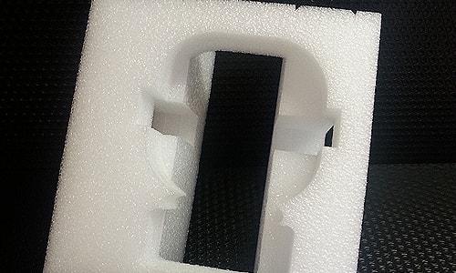 mousse polyethylene frame blanc
