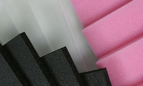 mousse polyethylene noir blanc antistatique
